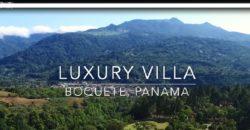 Villa de Lujo en Boquete